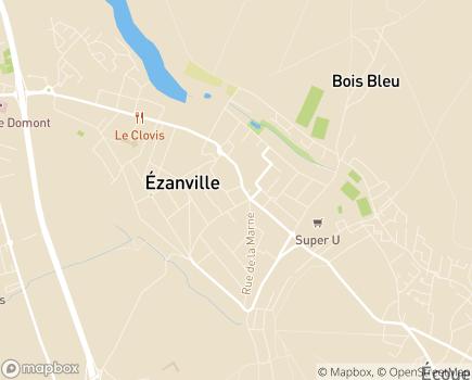 Localisation ESAT d'Ezanville - Association HAARP - 95460 - Ézanville