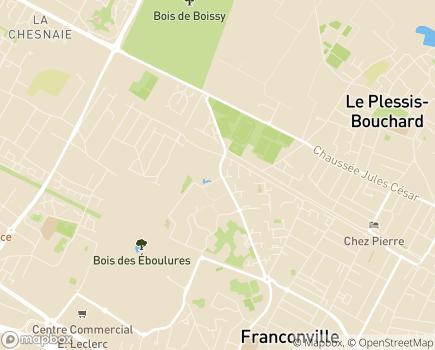 Localisation EHPAD Yvonne de Gaulle - Groupe ACPPA - 95130 - Franconville