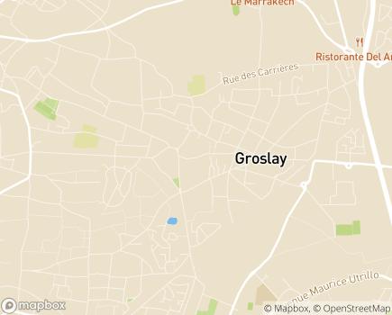 Localisation Belle Alliance - CRP et SAMSAH - 95410 - Groslay