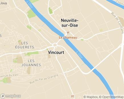Localisation ESAT La Hêtraie - 95280 - Jouy-le-Moutier