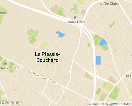 Localisation Résidence Le Grand Clos - 95130 - Le Plessis-Bouchard