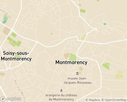 Localisation CLINEA - Clinique des Sources - 95160 - Montmorency