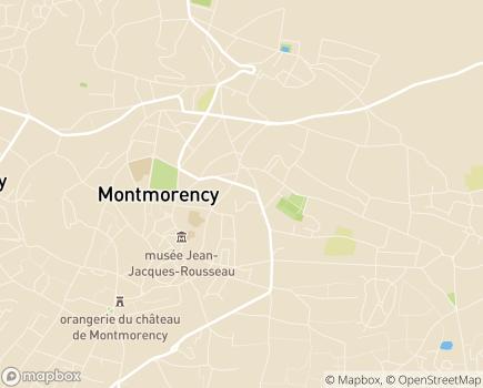 Localisation EHPAD - 95160 - Montmorency