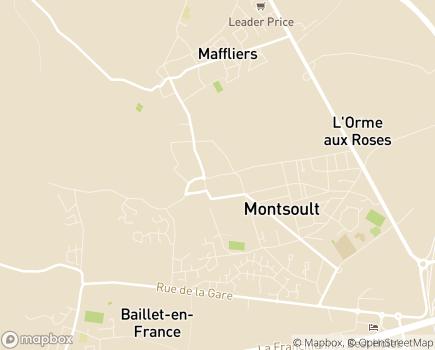 Localisation EHPAD Résidence Les Charmilles - 95560 - Montsoult