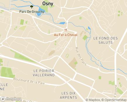 Localisation Institut Médico-Educatif La Ravinière - 95520 - Osny