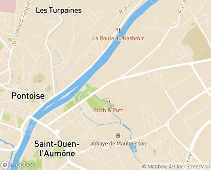 Localisation Foyer d'hébergement Éclaté (FHE) - 95310 - Saint-Ouen-l'Aumône