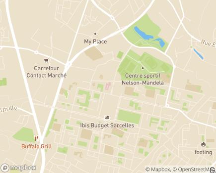 Localisation Hôpital Privé Nord-Parisien - 95200 - Sarcelles
