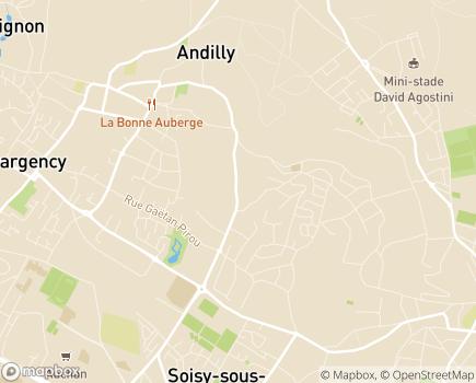 Localisation LADAPT Val d'Oise Adultes ESAT - 95230 - Soisy-sous-Montmorency