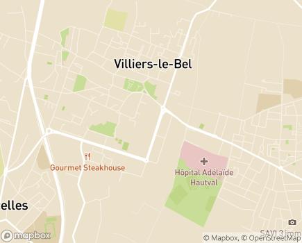 Localisation SAJ Maillol Centre Accueil de Jour - 95400 - Villiers-le-Bel
