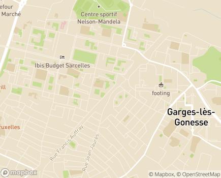 Localisation Le Puits de La Marlière Foyer d'Hébergement - 95200 - Sarcelles