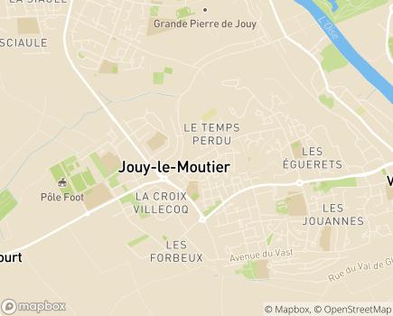 Localisation Foyer de Vie et Accueil de jour Handas - 95280 - Jouy-le-Moutier