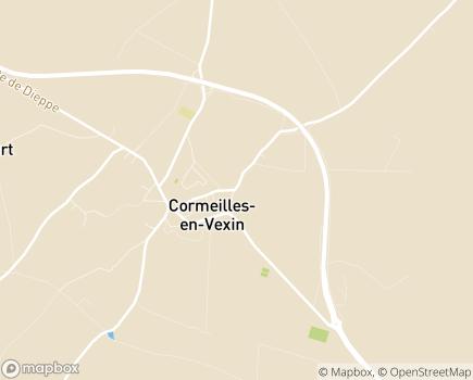 Localisation MECS Le Renan - 95830 - Cormeilles-en-Vexin