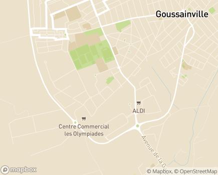 Localisation ESAT Docteur Jean Claude Gauthe - 95696 - Goussainville