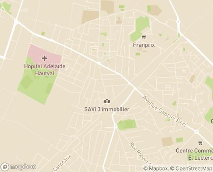 Localisation Foyer d'Hébergement et Service d'Accueil de Jour Aïda Bergerian - 95400 - Arnouville