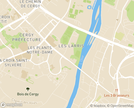 Localisation SAVS  Association HEVEA - 95000 - Pontoise