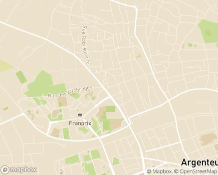 Localisation Service d'Accompagnement à la Vie Sociale - 95100 - Argenteuil