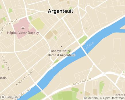 Localisation EHPAD Résidence Médicis - 95100 - Argenteuil