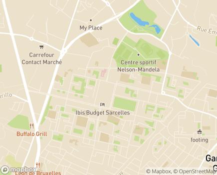 Localisation Centre Communal d'Action Sociale - 95200 - Sarcelles