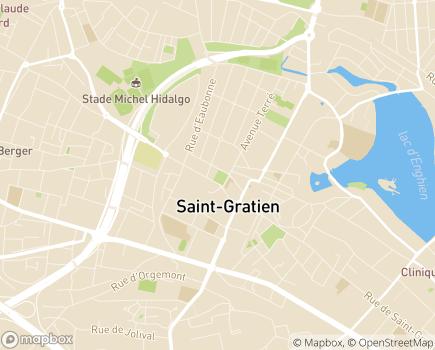 Localisation Centre Communal d'Action Sociale - 95210 - Saint-Gratien