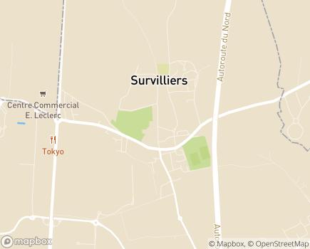Localisation SSIAD ADMR du Pays de France - 95470 - Survilliers