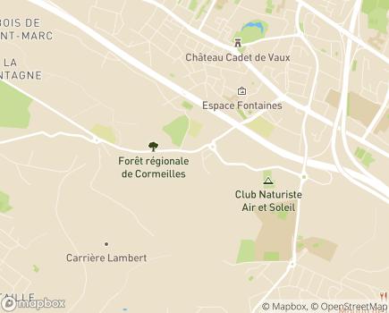 Localisation Korian Montfrais - 95130 - Franconville