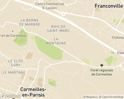 Localisation ESAT La Montagne - 95240 - Cormeilles-en-Parisis