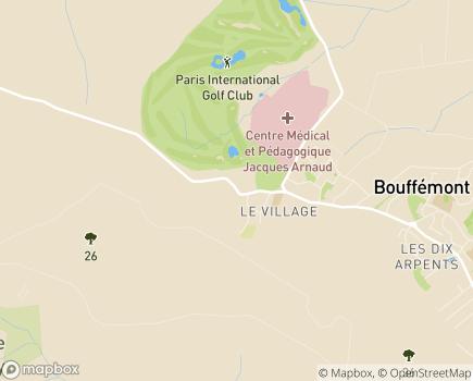 Localisation Colisée - Résidence Le Mesnil - 95570 - Bouffémont