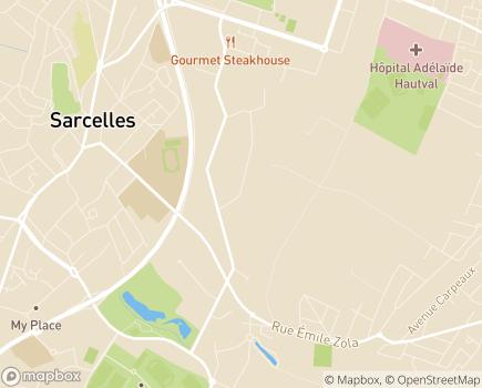 Localisation ESAT Le Petit Rosne - 95200 - Sarcelles