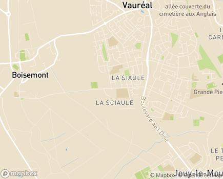 Localisation Fondation John BOST - Site de la Clé pour l'autisme - 95280 - Jouy-le-Moutier