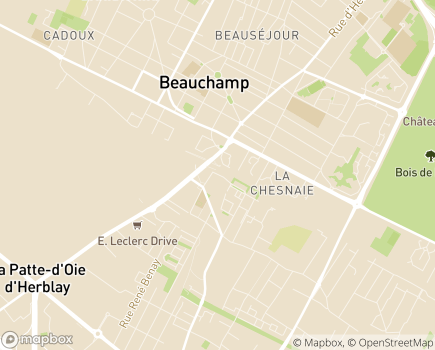 Localisation EHPAD Résidence de la Rue John Lennon - 95370 - Montigny-lès-Cormeilles
