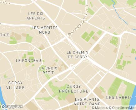 Localisation Domitys Galilée - Résidence avec Services - 95000 - Cergy