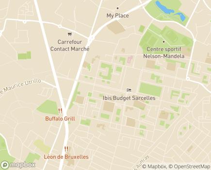 Localisation Home Meitis Les Artisans du Social société coopérative et participative - 95200 - Sarcelles