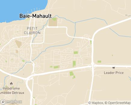 Localisation Centre Gérontologique du Raizet - 97122 - Baie-Mahault