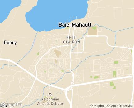 Localisation ESAT Horizon - 97122 - Baie-Mahault