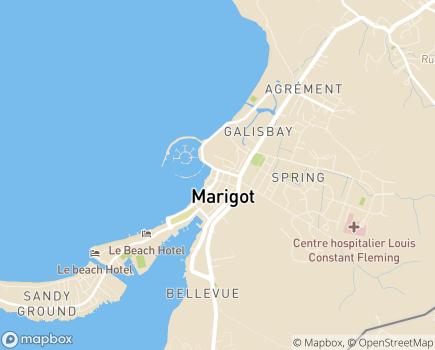 Localisation ARS Délégation Territoriale de Saint-Martin et Saint-Barthélemy - 97150 - Saint-Martin