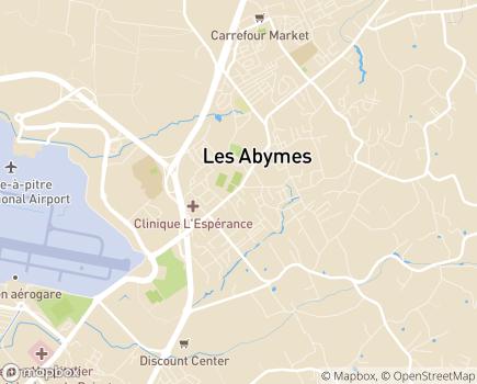 Localisation Hibis Services - 97139 - Les Abymes