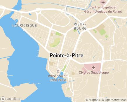 Localisation Foyer-Résidence Achille-René Boisneuf - 97110 - Pointe-à-Pitre