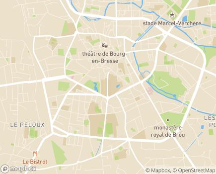 Localisation EHPAD Romain Blondet - 97212 - Saint-Joseph