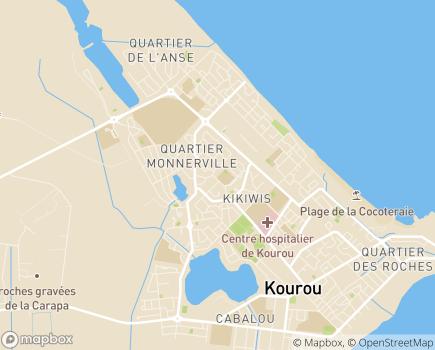 Localisation Centre Intercommunal d'Action Sociale de l'Ile de Cayenne - 97300 - Cayenne
