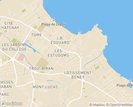 Localisation UDAF Union Départementale des Associations Familiales - 97300 - Cayenne