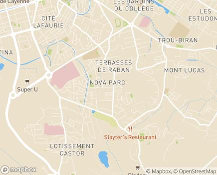 Localisation Centre Médico-Psychologique - 97300 - Cayenne