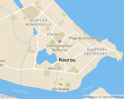 Localisation Centre Médico-Chirurgical de Kourou - 97310 - KOUROU