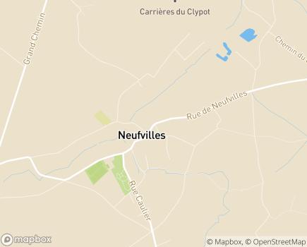 Localisation Centre Reine Fabiola - 7063 - Neufvilles