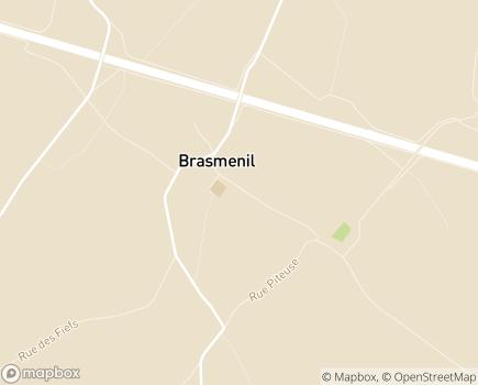 Localisation Le Manoir du Ménil Maison de Repos et de Soins - 7604 - Brasménil