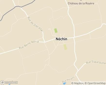 Localisation EHPAD Institut Saint-Joseph - 7730 - Nechin
