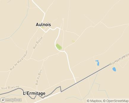 Localisation Les Résidences du Parc - 7040 - Aulnois