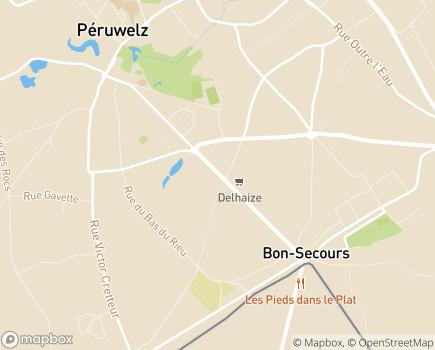 Localisation SPRL Hébergement Arc-en-Ciel - 7600 - Péruwelz