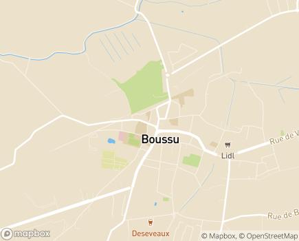 Localisation Maison de la Motte, ASBL Diagonales - 7300 - Boussu
