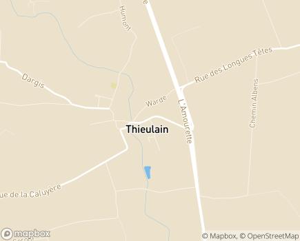 Localisation Résidence La Tourette - 7901 - Thieulain