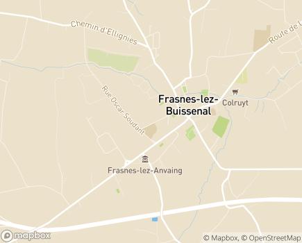 Localisation Maison de Repos et de Soins et Résidence-Services Le Jardin Intérieur - 7911 - Frasnes-lez-Buissenal